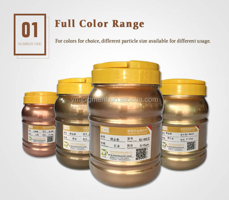 Bronze Gold Powder Rich Pale Gold Copper Metallic Pigment