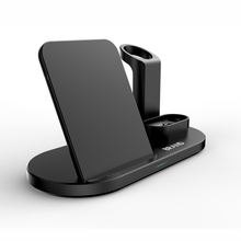 Multi Function Charging Dock Qi Wireless Charger 3 in 1 Stand for Smart Watch