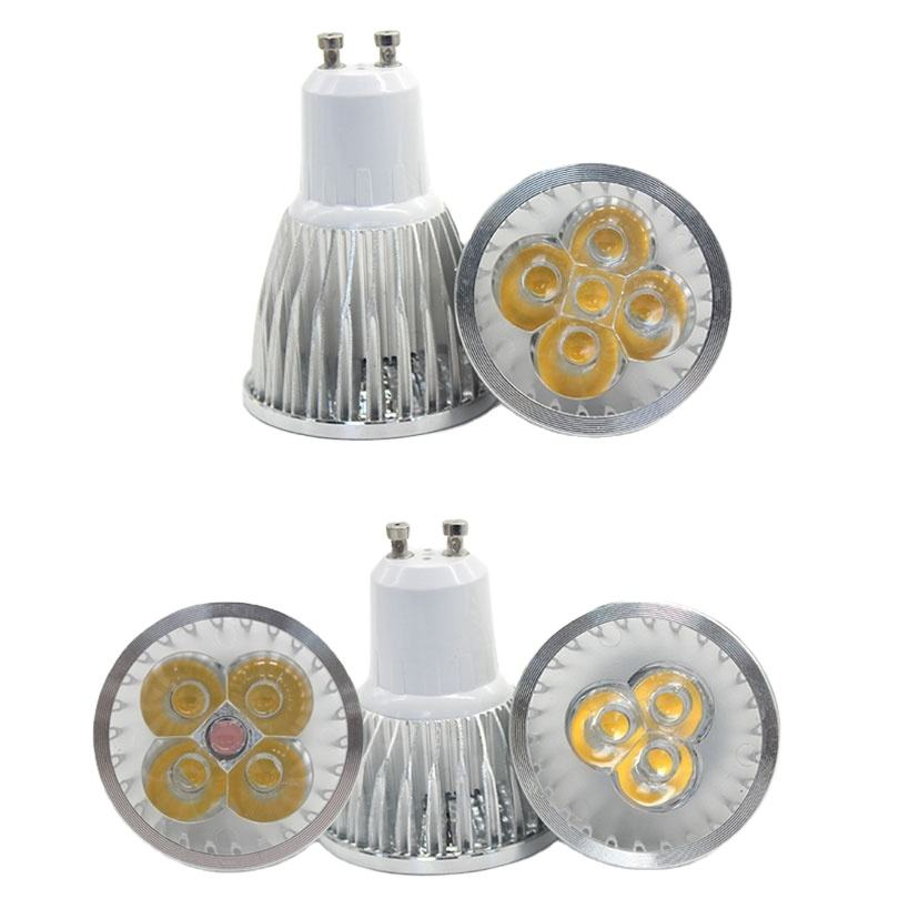 High-power LED bulb 9W 12W 15W No-dimmable DC 12V AC 220V home lighting