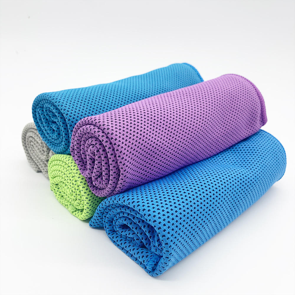 Sport Cooling Towels Relief Heat
