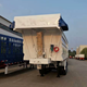 Construction Truck Trailer Use 3 Axles Tipping Semi Trailer Price