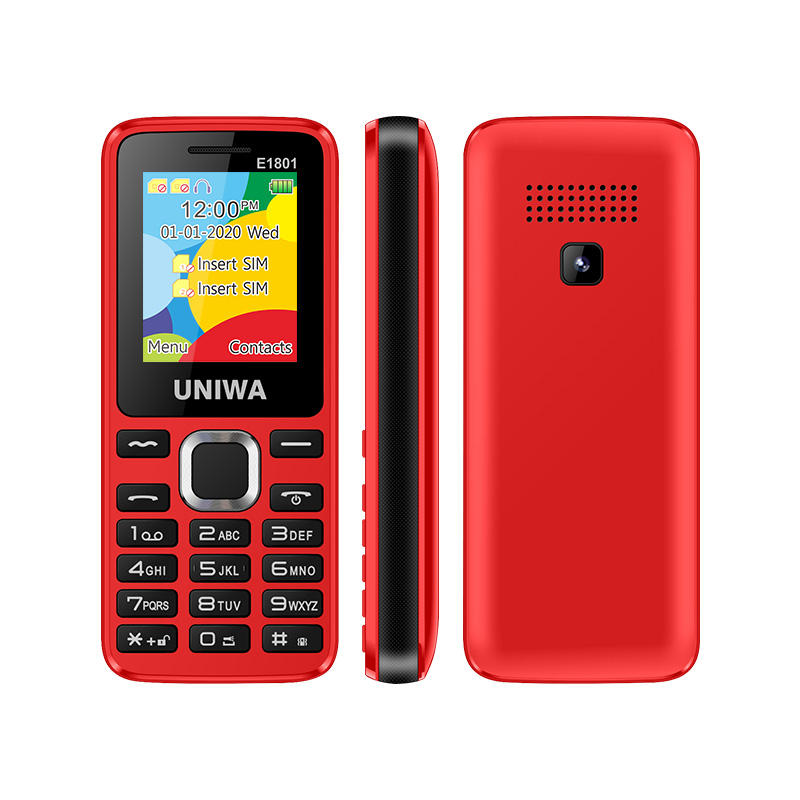 China Manufacturer 1.8 Inch Screen Dual SIM GSM 2g Cell Phone gsm Mobile Phone Cheap Feature Keypad Phone