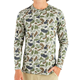 Custom Camo Sublimation Print Fishing Clothing Men's Lightweight Long Sleeve Fishing T Shirt