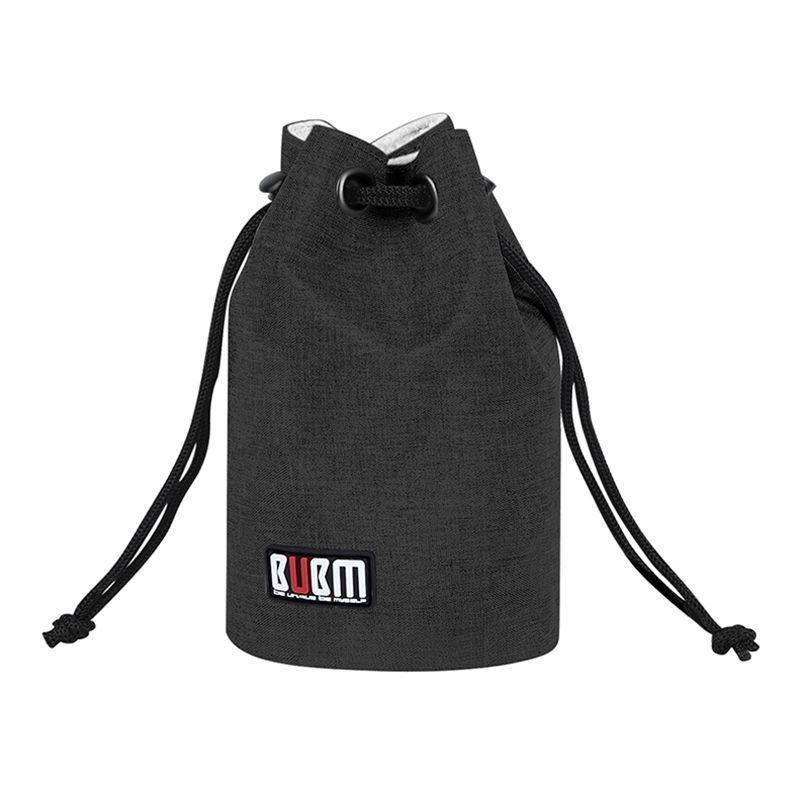 BUBM Shenzhen Supplier 2019 Portable Polyester Slr Camera Lens Pouch Travel Mini Camera Bag