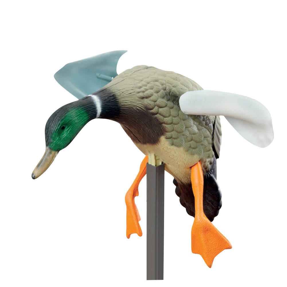 Outdoor Duck Decoy Electric or Wind Powered Motion Duck Decoy hunting wind blowing wings spinning sports decoys