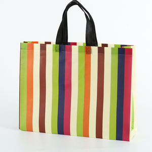 Cheap reusable grocery pp non woven laminated carry bag for shopping