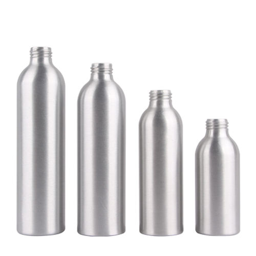 Aluminium Bottle 100ml Cosmetic Packaging Essential Oil 30ml 50ml 60ml 100ml 150ml 250ml 300ml Aluminum Cosmetic Spray Bottle