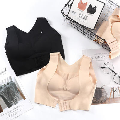 Dropshipping Girls Shaper Underwear Women Posture Corrector Seamless Push Up Bra