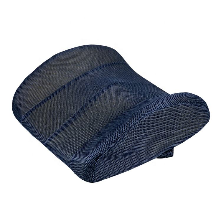 Premium quality breathable memory foam seat cushion for back pain