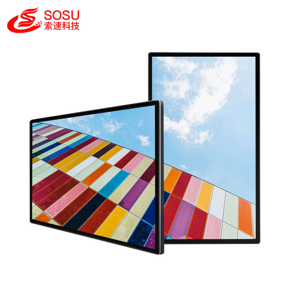 32 inch smart lcd wall mount digital signage 1920*1080p for advertising with USB WIFI touch screen
