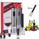 new product ideas 2019 electric wine bottle opener set with extra free air pump wine opener for mens gift set