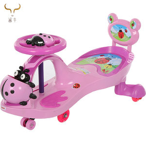 Baby kid children wiggle swing car Xingtai Original swing baby toy cars/kids swing car/children swing car with light and music