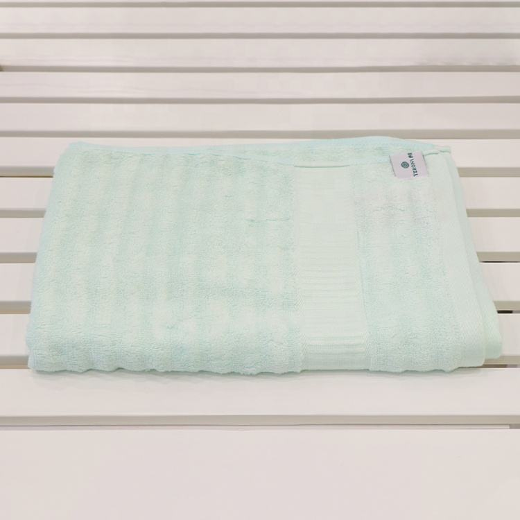 New Design Cotton Custom Bath Towels High Quality Soft Touch For Women