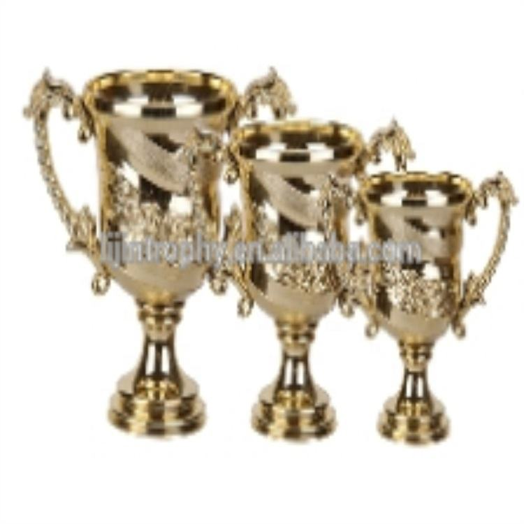 Beautiful plastic cup trophy parts for assembled trophies