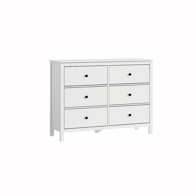 white color with 6 chest of drawers furniture for home