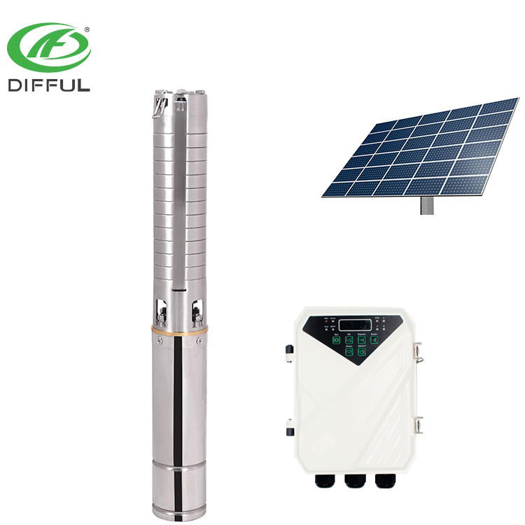 dc submersible 2hp price solar water pump for agriculture farm irrigation