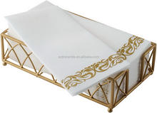 Disposable Hand Towels & Decorative Bathroom Napkins Soft and Absorbent Linen-Feel Paper Guest Towels for Kitchen