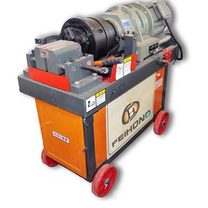 Automatic construction rebar sawing thread rolling machine