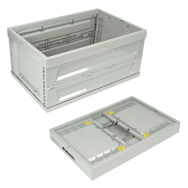 Factory hot sale plastic moving shipping folding crate
