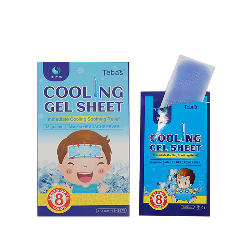 Koorts Cooling Gel Patch Met Lijm Voor <span class=keywords><strong>Baby</strong></span> Hot Koop Koorts Patch Cooling Patch
