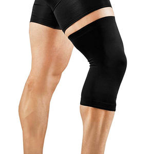 High Copper Infused Compression Recovery Knee Sleeve Support Knee Brace for Men Women