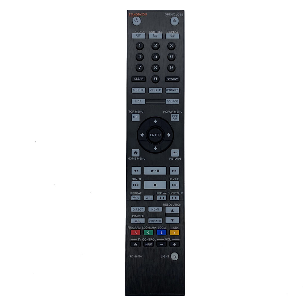 RC-967DV New Original remote For Pioneer 4k Ultra HD Blu-ray reference player UltraHD-Multiplayer UDP-LX800 UDP-LX500 tv remote