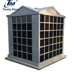 High quality granite headstone cremation urn columbarium for cemetery