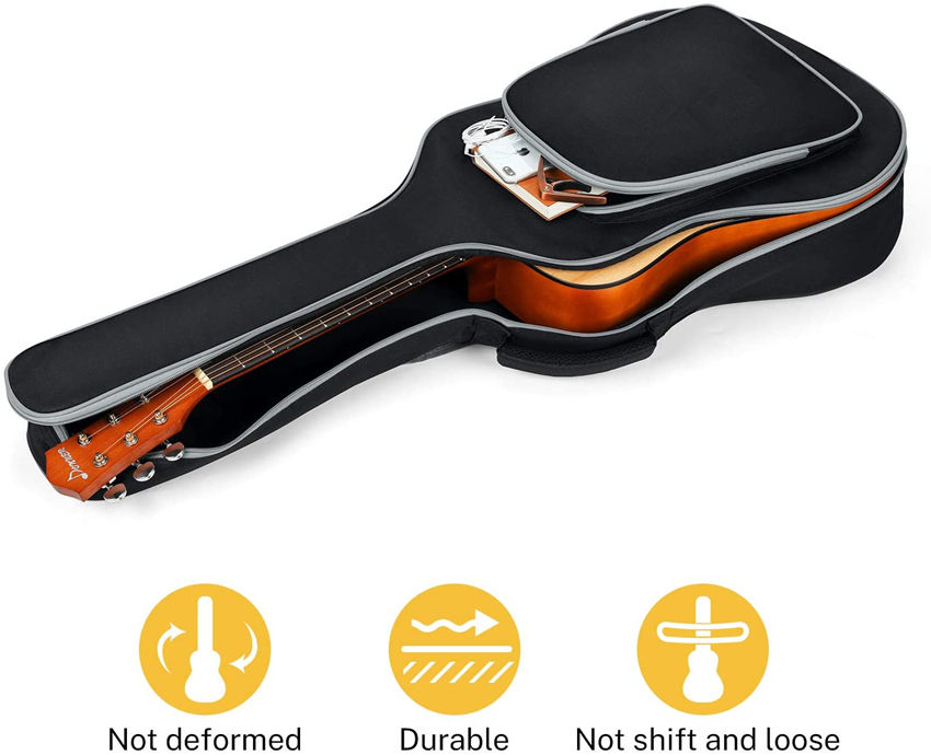 Instrument Bags Rip-stop Water-Resistant Instrument Carry Bag Acoustic Guitar Gig Bag