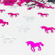 Unicorn Horse Confetti Girls Boys Birthday Party Supplies Table Decoration For Baby Shower Gender Reveal Event Celebration