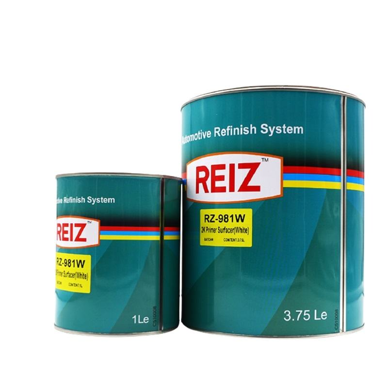 High-performance Pigment Car Paint Guangzhou Reiz 2k Primer Surfacer Automotive Paint