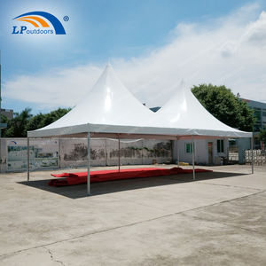 easy installation double peak pagoda marquee tent for event