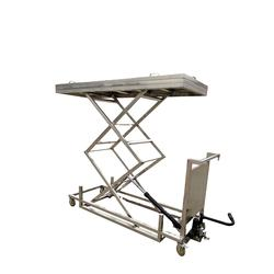 Best quality  stainless steel hydraulic mortuary cart wonder selling  Hydraulic Scissor Lifts Mortuary Lifter