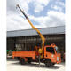 China Mobile Truck Crane Sale 4 Ton China Hydraulic Mobile Small Mini Used/New Knuckle Folding Boom Lorry Truck Mounted Crane Manufacturer For Sale SQ4SA2