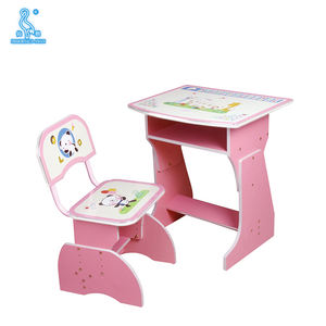 2029 Customized Table Type Ergonomic Kids Study Desk Desk And Chair