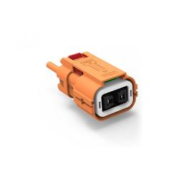 Security Economical High quality high voltage busbar connectors high voltage connector orange