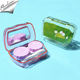 Hot sale cheap contact lens case cute custom designer cute contact cases