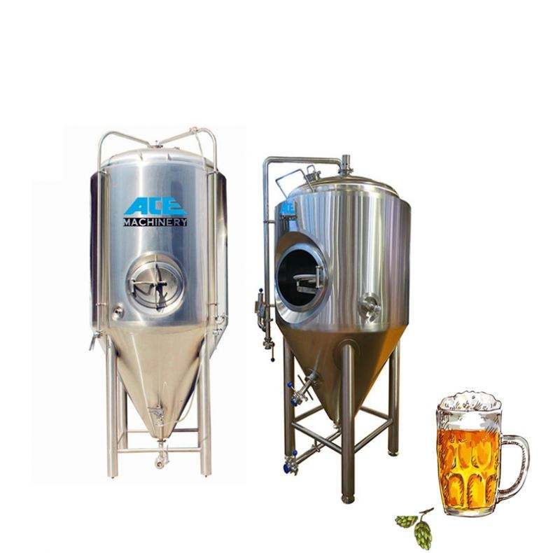 Glycol Water Tank Brewery System Wort Cooling Equipment Beer Fermenting Vessels Cooling Chiller