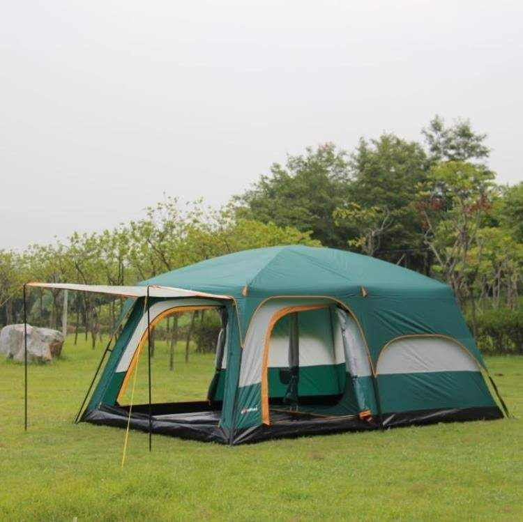 2020 wholesale easy setup 2 room 1 living room large luxury family 8 person outdoor camping manufacture tents for sale