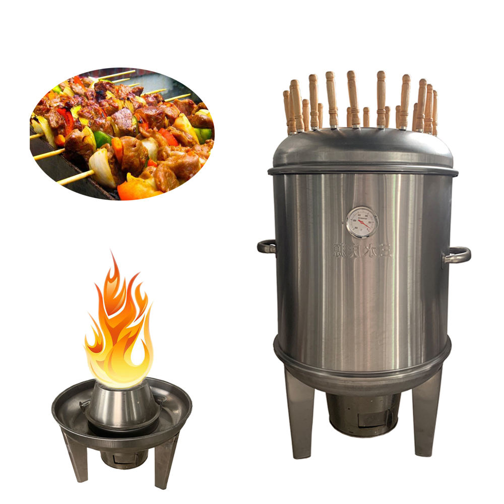 Discount Factory Price Small Diameter 40cm 50cm Charcoal Stainless Steel BBQ Grill