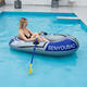 1 & 2 person travel outdoor camping leisure portable inflatable raft fishing boat floating rafter