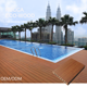Rucca China Teak Composite Wpc Engineered Wood Decking Flooring