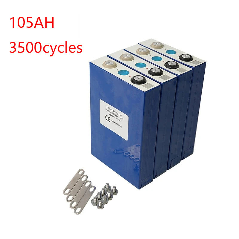 rechargeable li-ion battery prismatic cell 3.2v 100ah lithium lifepo4