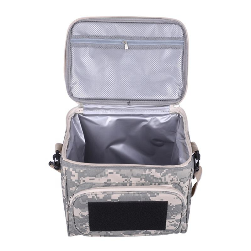Wholesale OEM Custom printing insulated cooler bag waterproof and reusablable lunch cooler bag