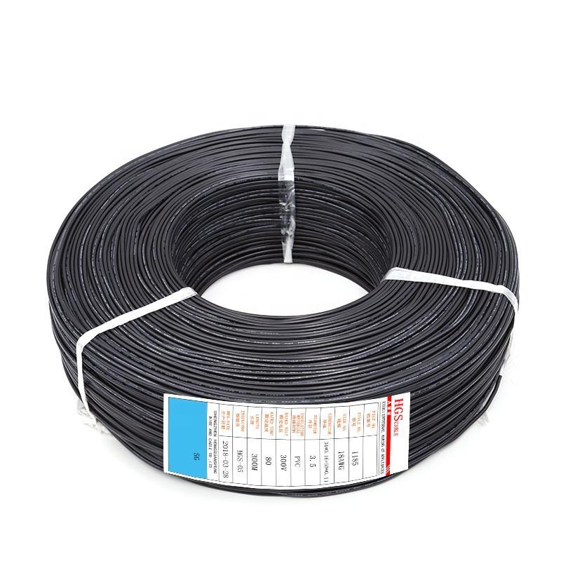 1185 16 AWG Katı Korumalı Kalaylı Bakır <span class=keywords><strong>Ses</strong></span> 2.5mm Tel Kablo