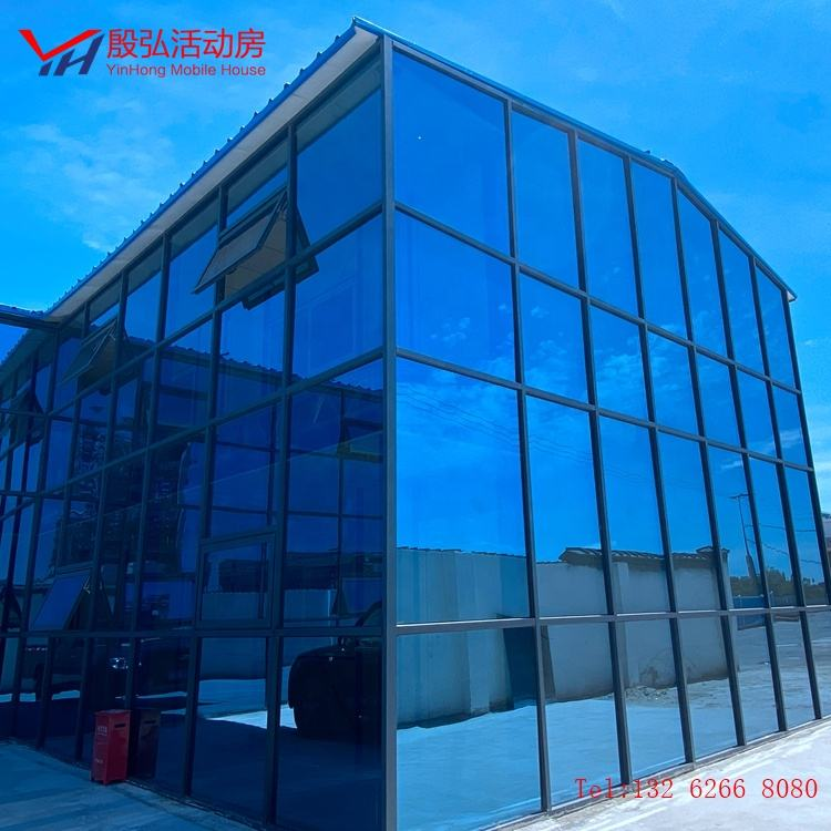 Frame Prefabricated House Low Price Light Steel Sandwich Panel Houses Modern Hotel Standard or Customized 20 Years Anti 100km/h