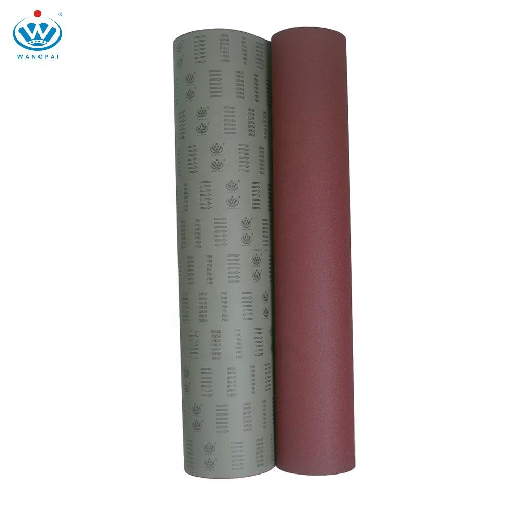 Factory Whole Sale Sanding Belt Abrasive Cloth Jumbo Roll Aluminum Oxide GXK51 Sand Cloth Roll