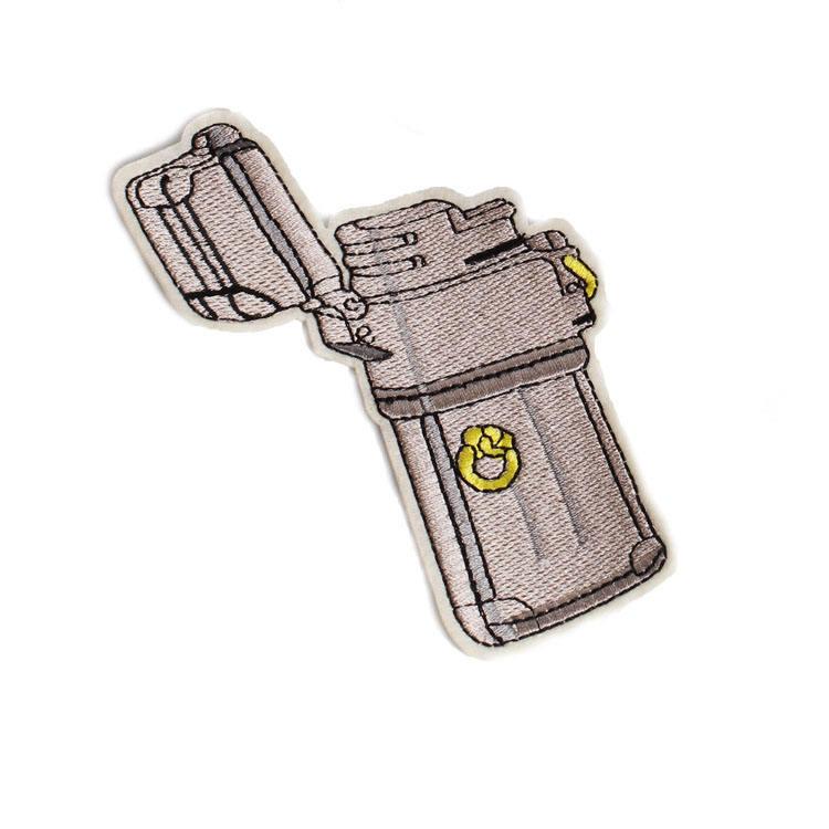 Modello personalizzato <span class=keywords><strong>partito</strong></span> <span class=keywords><strong>Del</strong></span> <span class=keywords><strong>Ricamo</strong></span> Patch di Ferro-On Patch Militare Logo per abbigliamento