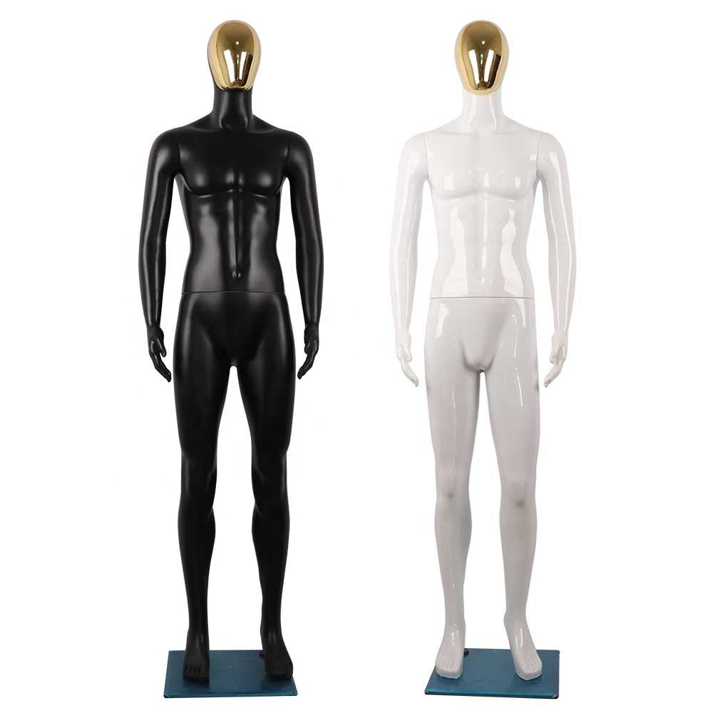 Fashion window display ivory white man/male mannequin