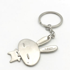 Custom-Made Engraved Metal / Stainless Steel 3D Keychain With Car Logo