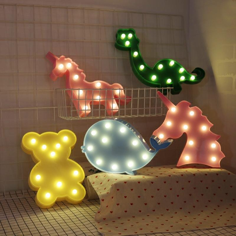 Chengming High Custom Small Mini 3D Led Acrylic Letter Indoor With Light Bulb